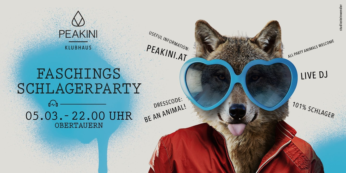 Peakini Header 1440x720 Fasching - FASCHINGS SCHLAGERPARTY