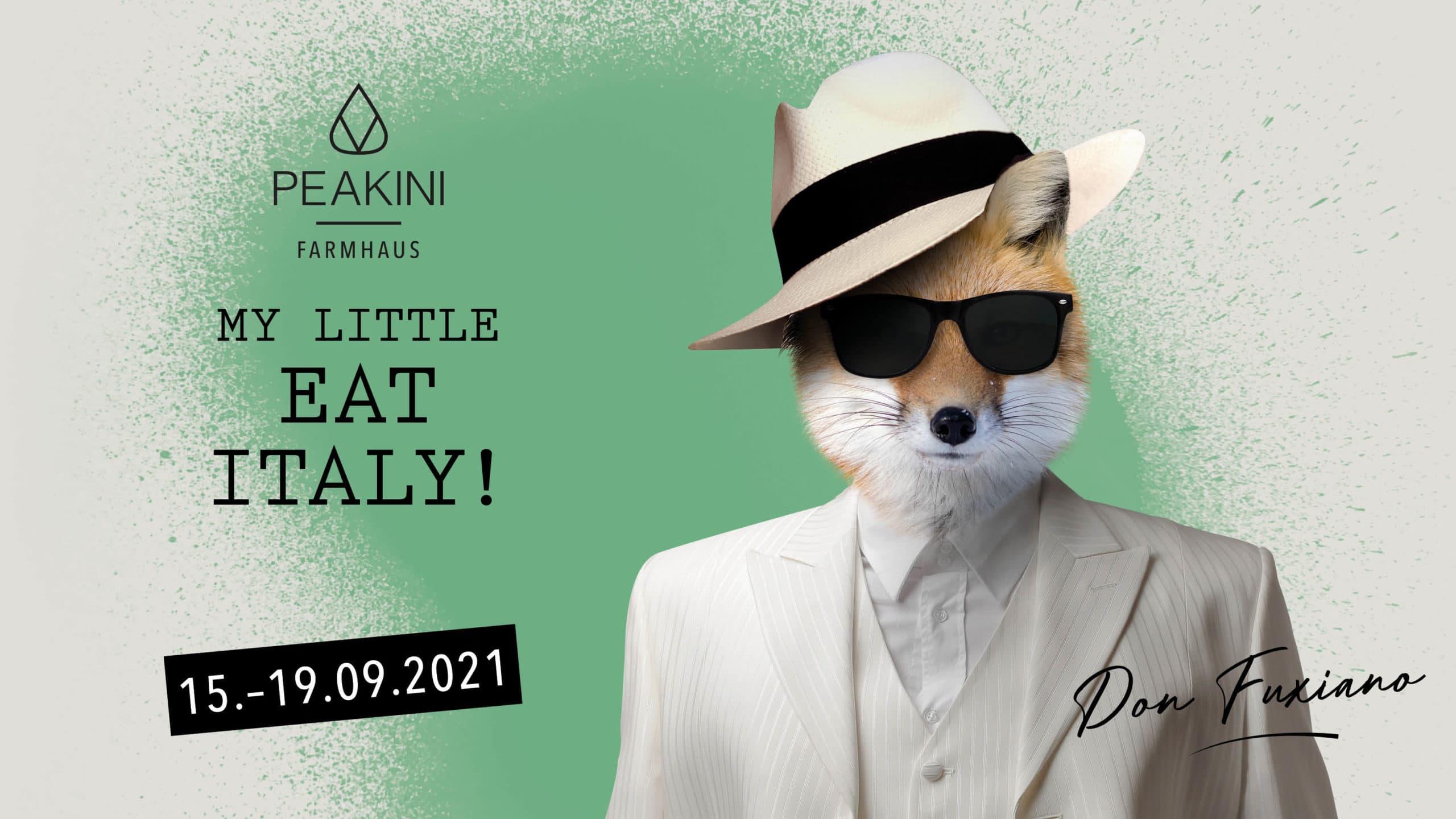 My Little Eat Italy Days Peakini Farmhaus